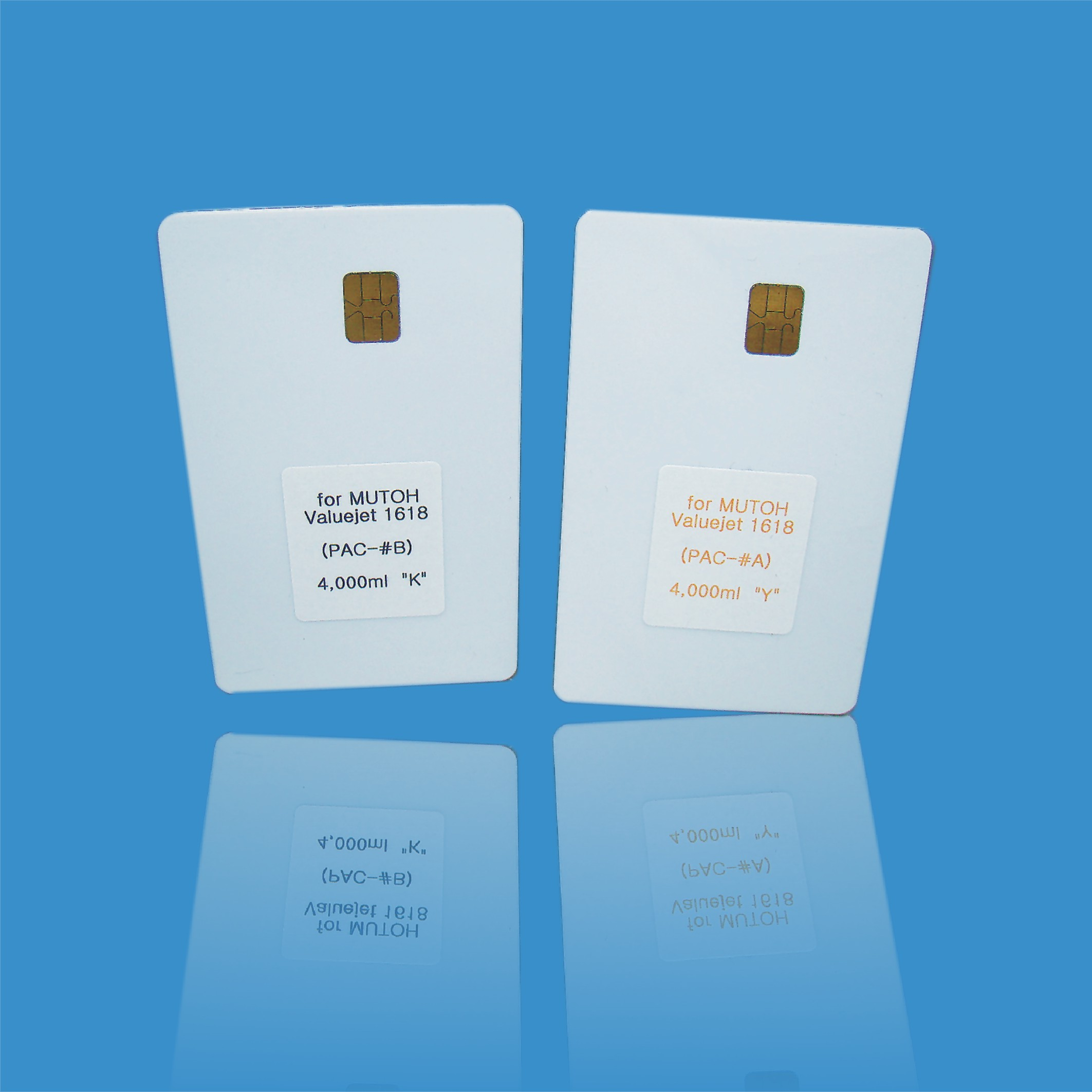 Mutoh chip smart card chip for VJ-MSINK 3A ECO-SOL ULTRA INK chip